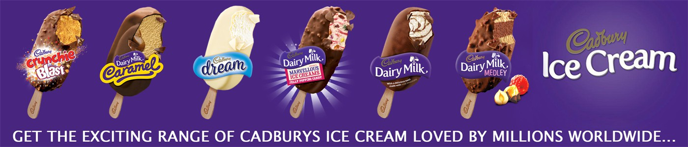 Summer Slider - Cadburys Ice Cream
